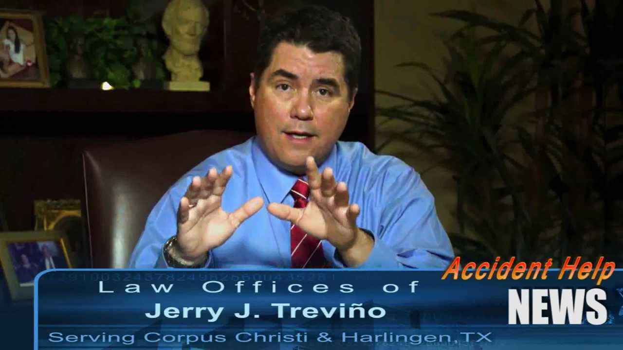 Texas Personal Injury Attorney - Jerry Treviño - Accident Help News Interview