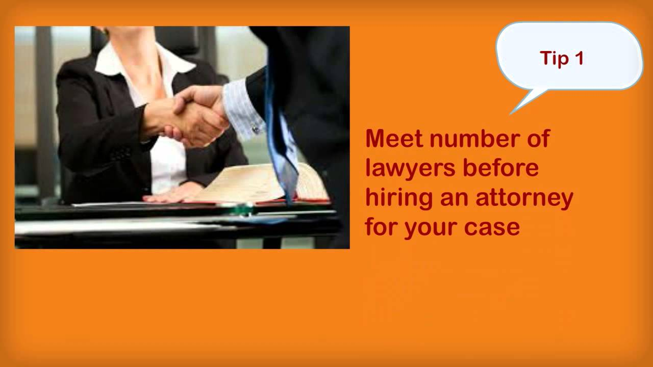 Tips On Hiring personal Injury Lawyers