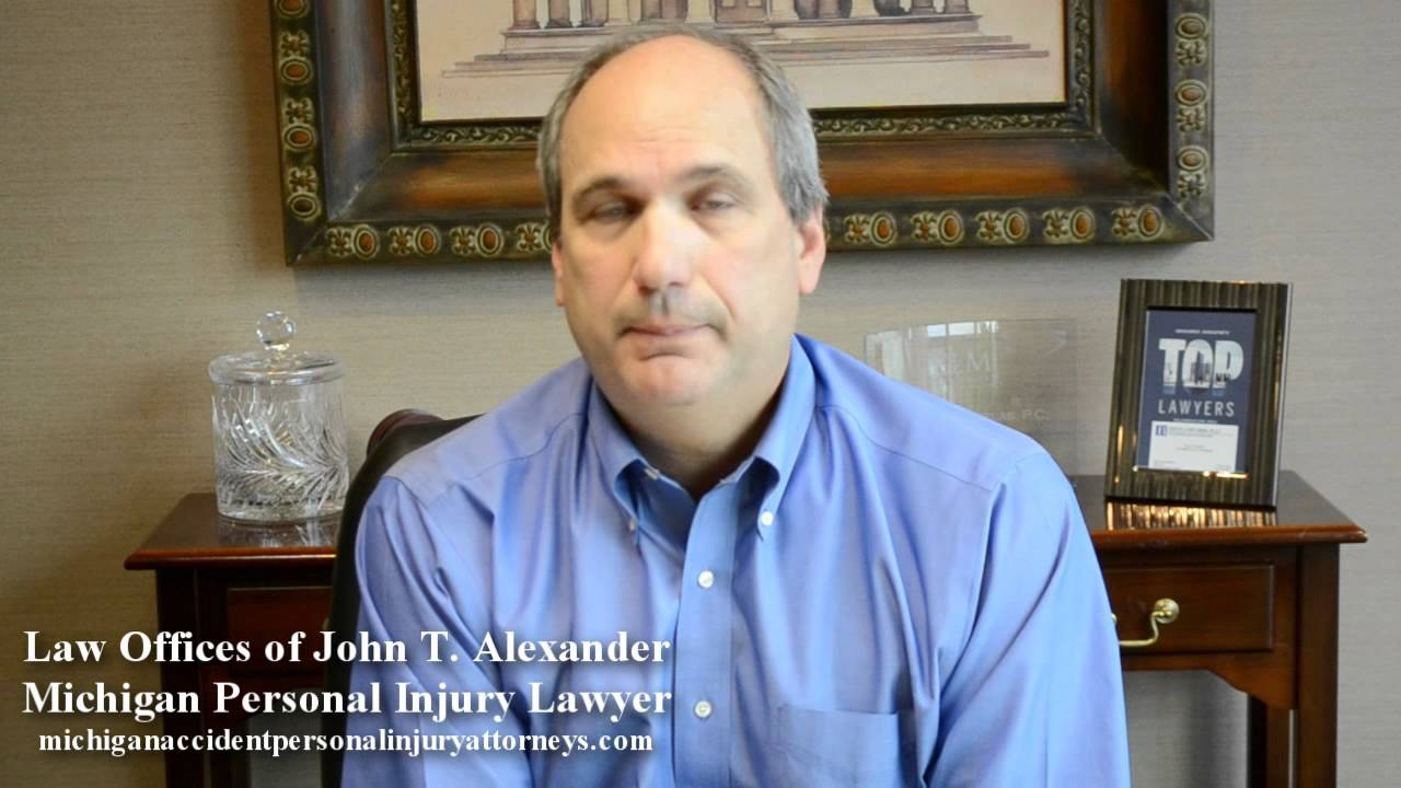 Michigan Personal Injury Lawyer Gives Litgation Tip