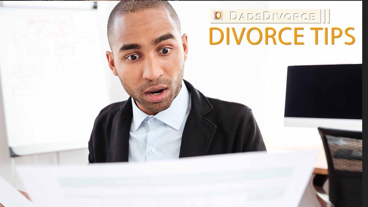 Responding To Divorce Papers | Dads Divorce | Divorce Tips