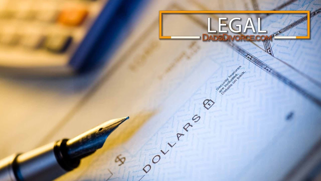 Tracing Child Support Payments   Dads Divorce   Legal