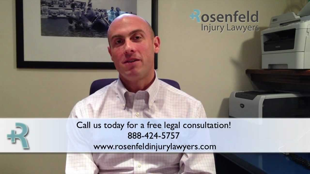 Don't Destroy Your Personal Injury Case! - Rosenfeld Injury Lawyers - Tips For Max Recovery!