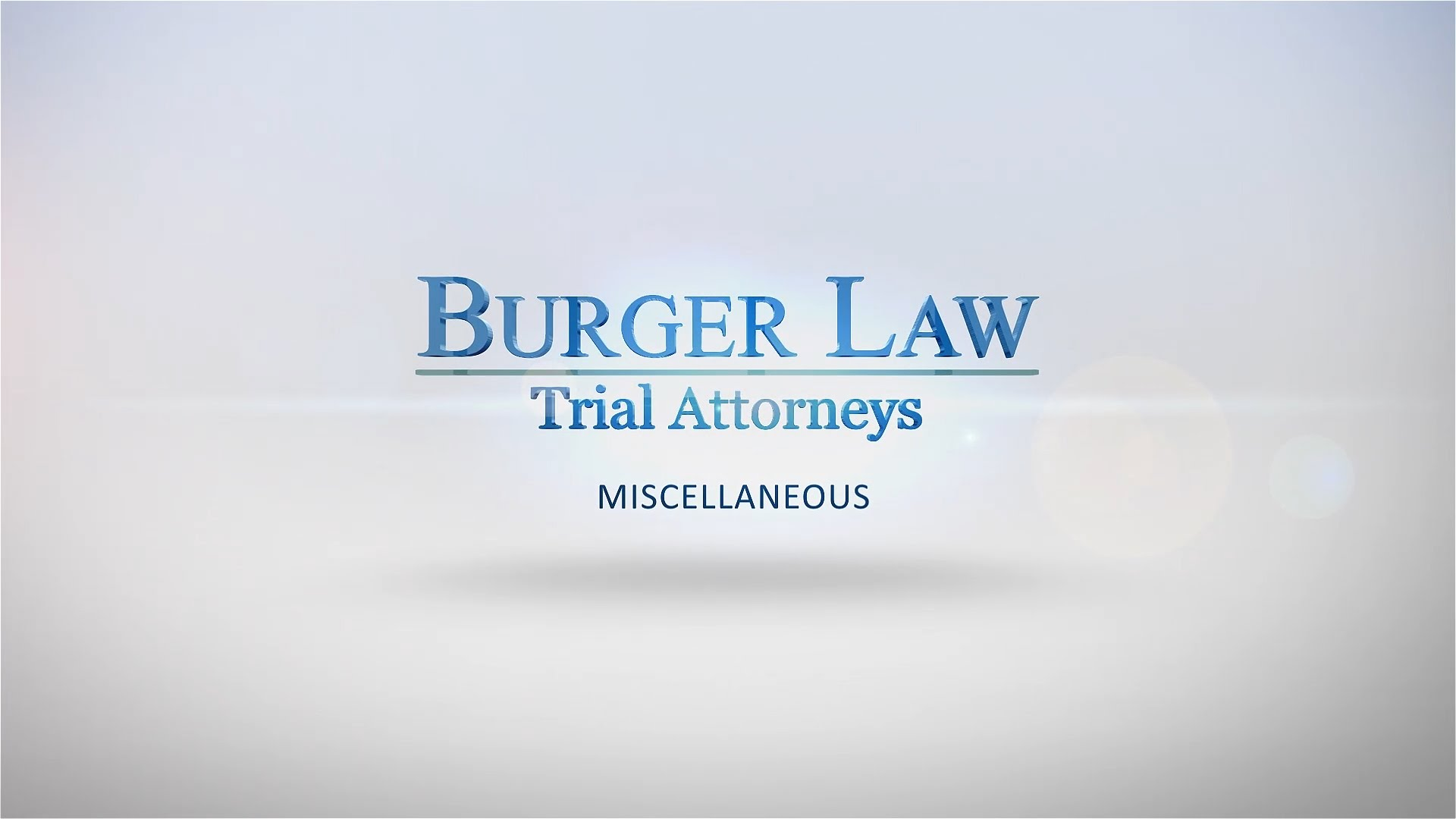 Personal Injury Accident Tips | Personal Injury Attorney in St Louis, MO - BurgerLaw.com